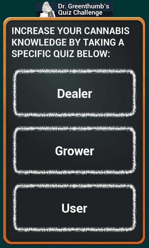 Dr. Greenthumb's Quiz - screenshot