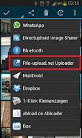 Screenshot of File-upload.net Uploader
