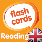 Reading flashcards, WORDS icon