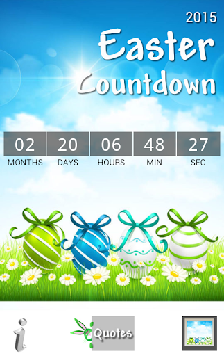 Easter Countdown 2015