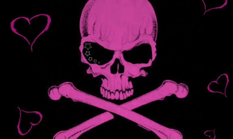Girly Skull Wallpapers FREE - screenshot