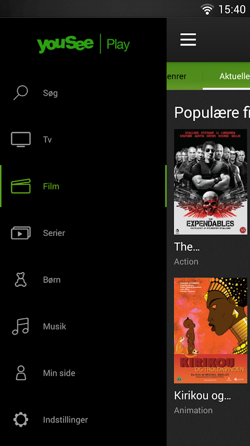 YouSee Play Tv & Film - screenshot