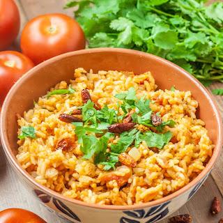 Portuguese Spicy Tomato Rice.