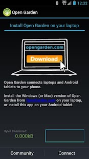 Open Garden: Internet Sharing- screenshot thumbnail