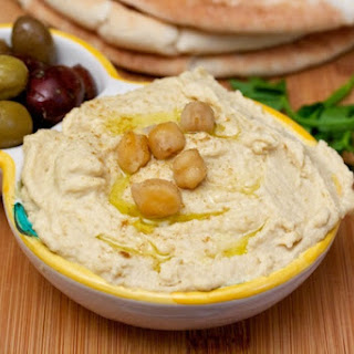 Rich Homemade Hummus