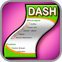 DASH Diet Shopping List logo