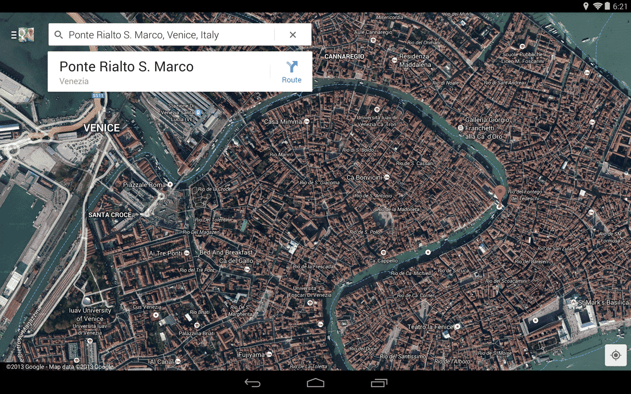 Maps - screenshot