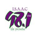 ISAAC 98.1 FM Radio logo