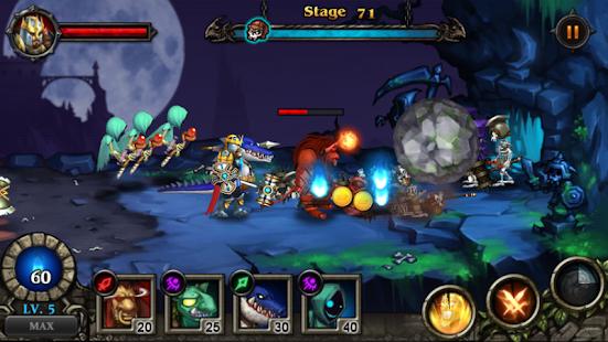 Hero Defense : Kill Undead