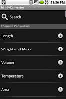 Screenshot of handyConverter
