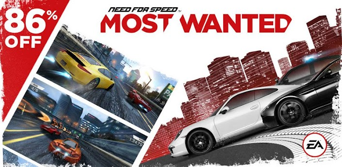 NFS Most Wanted 1.0.47 Apk Mod Full Version Data Files Download