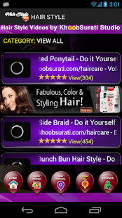 Hairstyles Video Tutorials - screenshot thumbnail