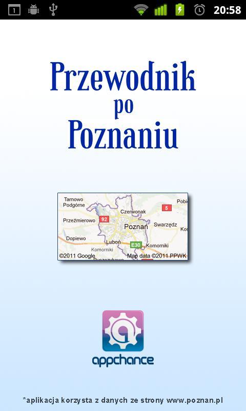 Przewodnik po Poznaniu- screenshot