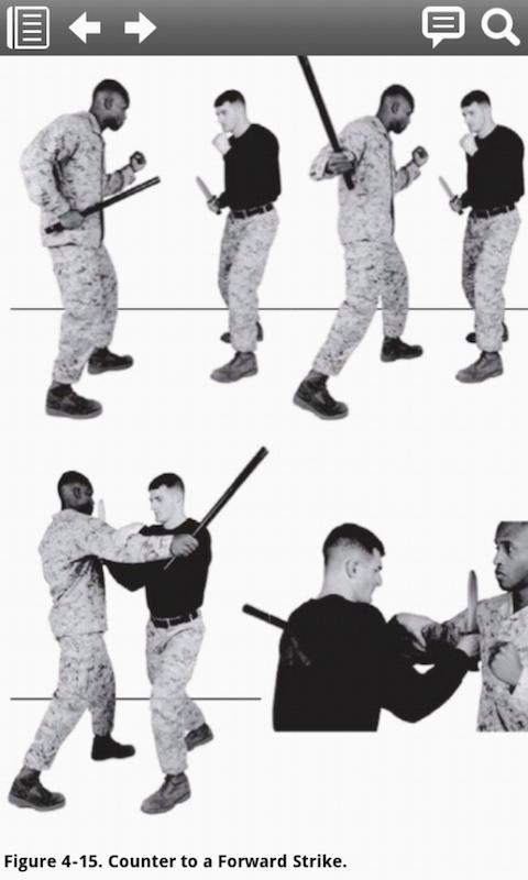 Marine Martial Arts MCRP 3-02B - screenshot