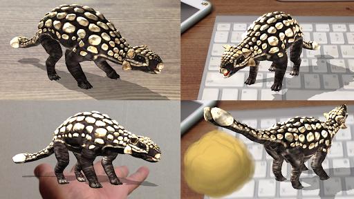 恐竜 3D - Ankylosaurus