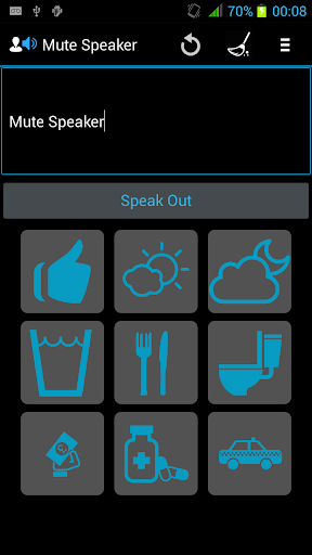 Mute Speaker