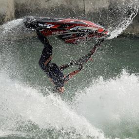 Jet-pilot  by Bostjan Pulko - Sports & Fitness Watersports ( water-jet )