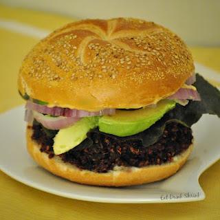 Eat Drink Shrink Beet Burgers.