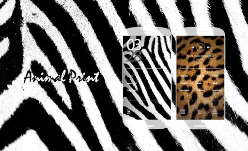 Animalprint Buzzlauncher Theme