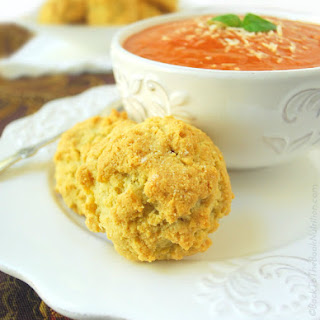 Almond Flour Cheddar Biscuits.