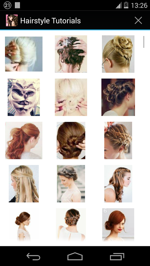 Hairstyles Step By Screenshot