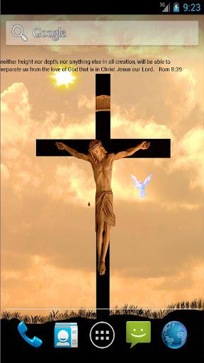 jesus on cross LWP free