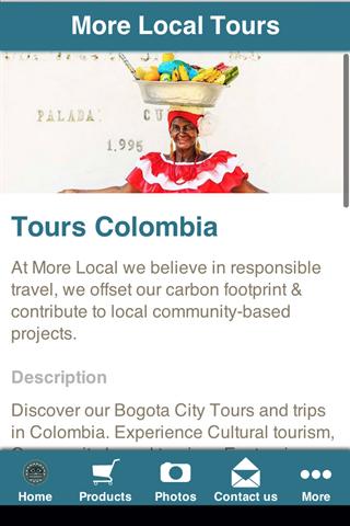 Tours Bogota Colombia