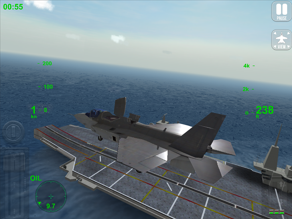 F18 Carrier Landing - screenshot