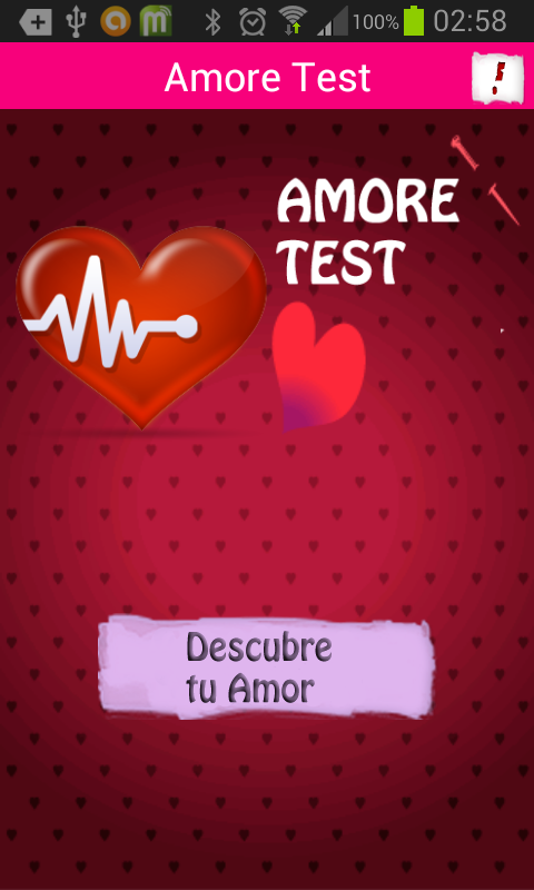 Amore Test - screenshot