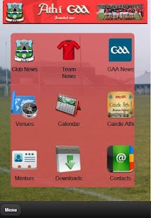 Athy GAA App- screenshot thumbnail