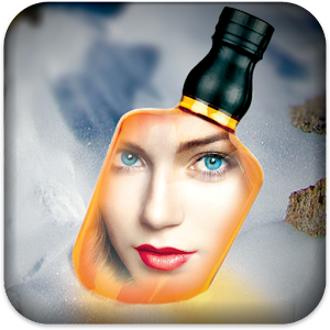 Photo In Bottle Icon