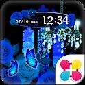 古城の青薔薇 for[+]HOMEきせかえテーマ icon