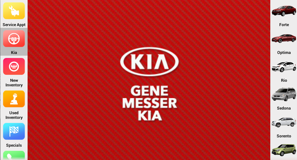 Gene Messer Kia- screenshot