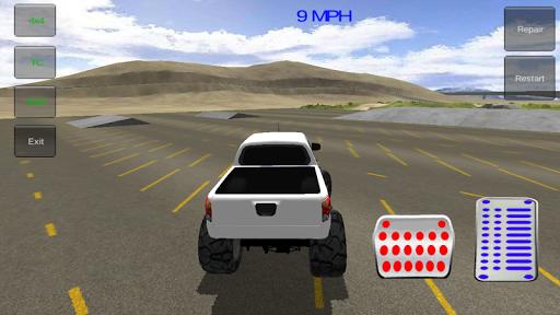 無料赛车游戏Appの4x4のモンスタートラックの3D 記事Game