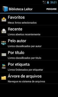 Livros grátis em português - screenshot thumbnail