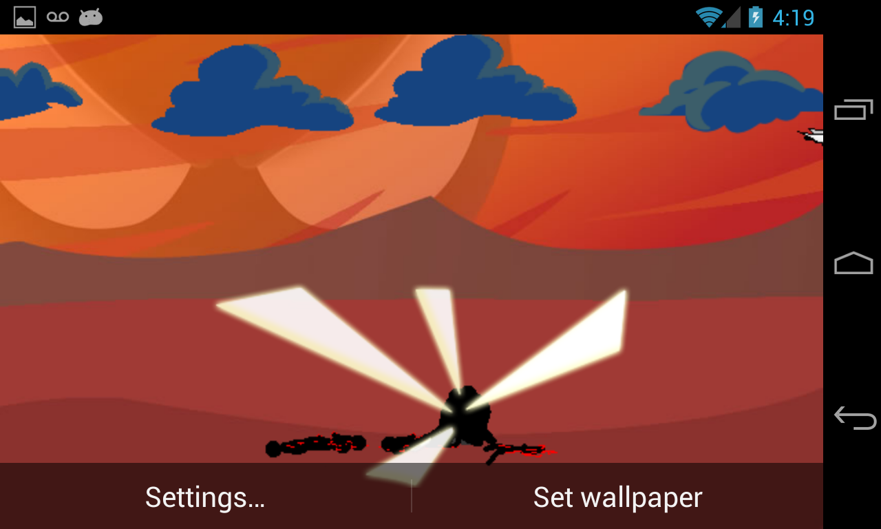 Stickman Wallpaper- screenshot