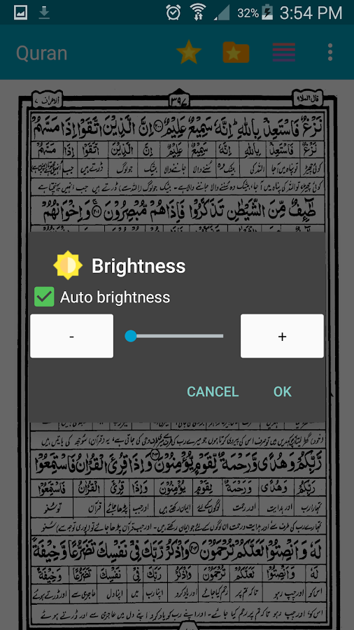 Urdu Quran (Word to Word)- screenshot
