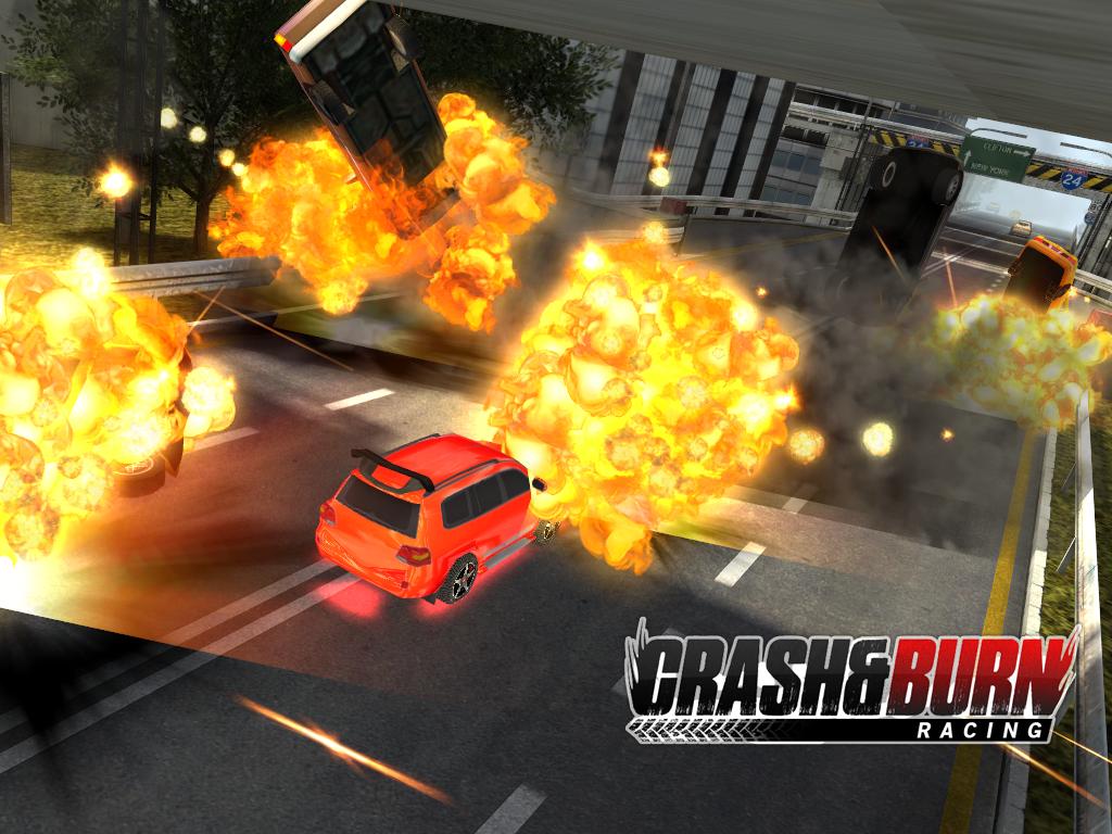 Crash and Burn Racing screenshot #10
