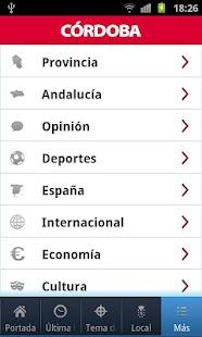El Diario de Córdoba- screenshot thumbnail