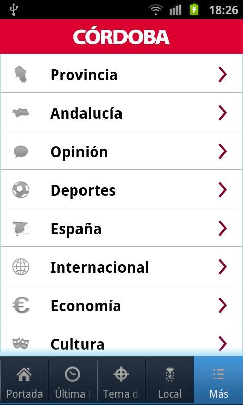 El Diario de Córdoba- screenshot