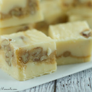 White Pecan Praline Fudge