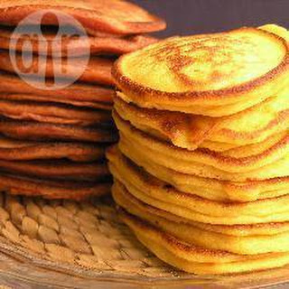 Brunch Sweet Potato Pancakes.