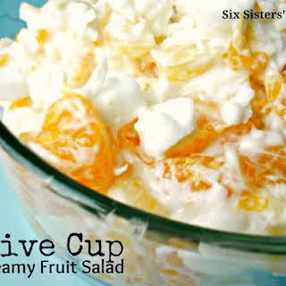 Grandma's Five Cup Creamy Fruit Salad.