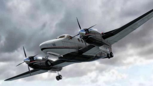 Flight Simulator - Baron 58
