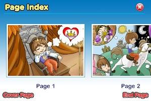 Screenshot of Princess and Pea StoryChimes