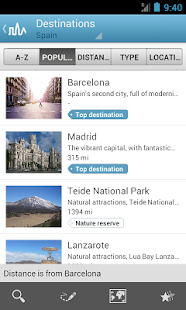 Spain Travel Guide – Miniaturansicht des Screenshots