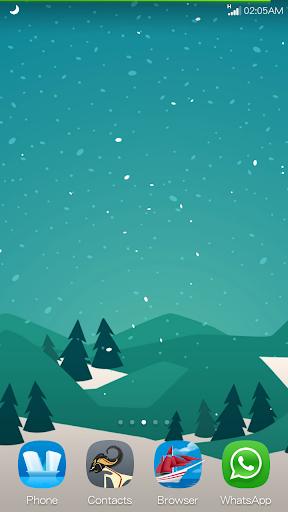 冬の無料ライブ壁紙