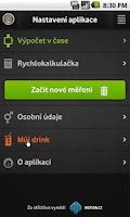 Screenshot of Promile.INFO