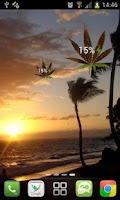 Screenshot of Marijuana Leaf HD Battery