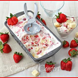 Strawberry Shortcake Ice Cream #StrawShortcake